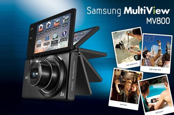 Samsung Multiview MV800 поворачивает мир вокруг себя